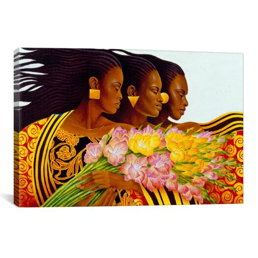 "iCanvas ""Three Sisters"" Canvas Wall Art by Keith Mallett"