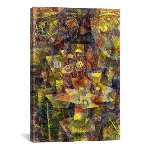 iCanvas 'Still Life with Autumn Flowers (Herbstblumen Stilleben) 1925' by Paul Klee Graphic Art on Canvas