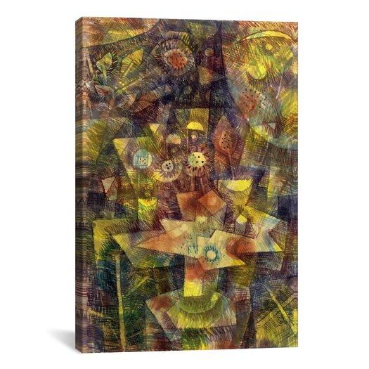 iCanvasArt 'Still Life with Autumn Flowers (Herbstblumen Stilleben) 1925' by Paul Klee Graphic Art on Canvas