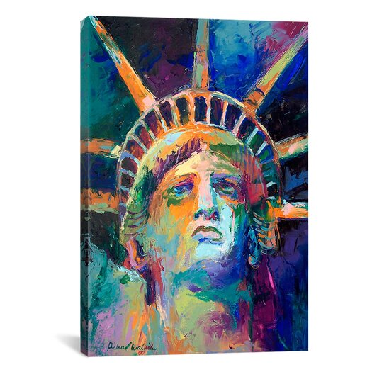 "iCanvasArt ""Statue"" Canvas Wall Art by Richard Wallich"