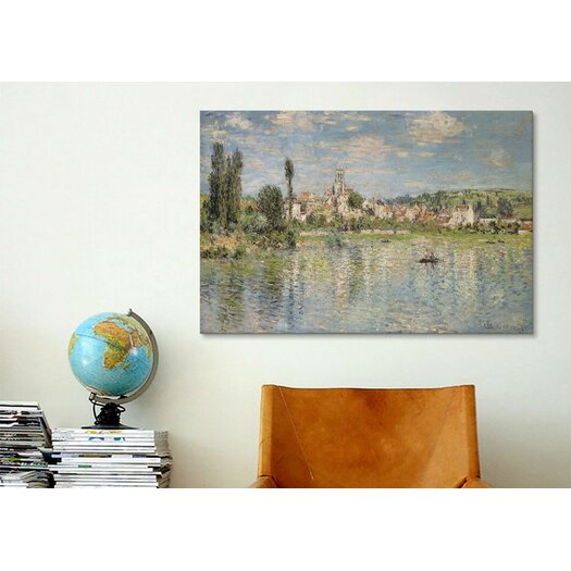 "iCanvas ""Vetheuil in Summer 1880"" by Claude Monet Painting Print on Canvas"