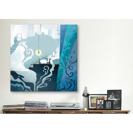 "iCanvas ""Snowman"" Canvas Wall Art by Youchan"
