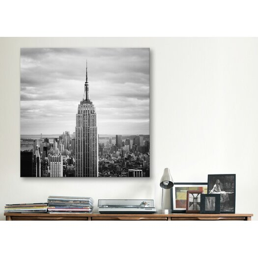 iCanvas New York City Empire Canvas Wall Art by Nina Papiorek