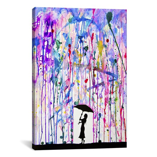 iCanvasArt 'Deluge' by Marc Allante Painting Print on Canvas
