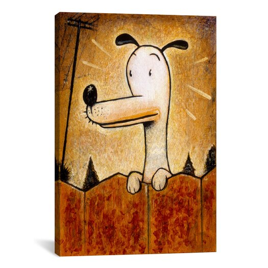 iCanvas 'Pup' by Daniel Peacock Painting Print  on Canvas