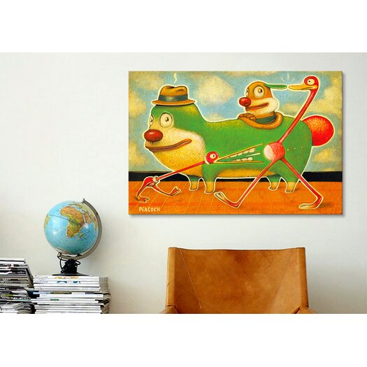 iCanvas 'Belly Biter' by Daniel Peacock Painting Print on Canvas