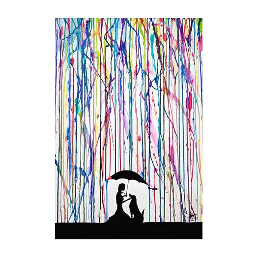 iCanvas 'Sempre' by Marc Allante Painting Print on Canvas