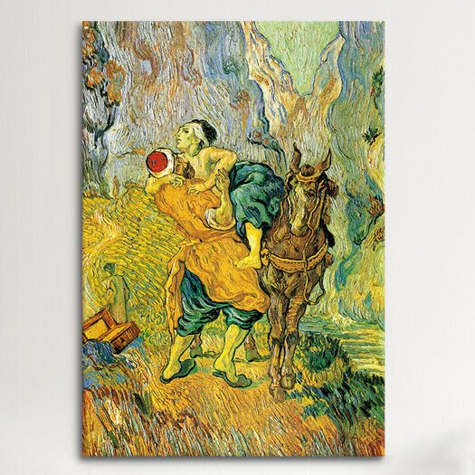 iCanvas 'The Good Samaritan' by Vincent Van Gogh Painting Print on Canvas