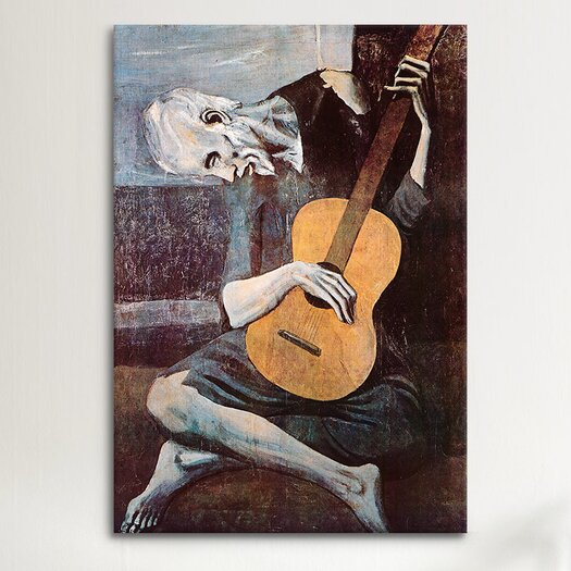 iCanvas 'The Old Guitarist' by Pablo Picasso Painting Print on Canvas