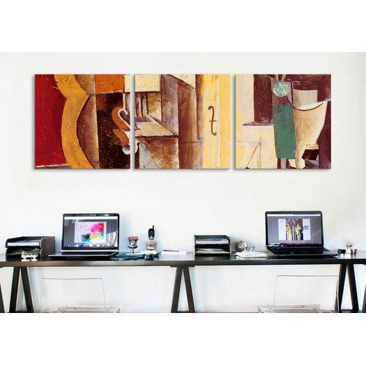 iCanvas Pablo Picasso Violin and Guitar 3 Piece on Canvas Set