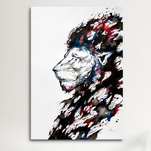 iCanvasArt 'Repose' by Marc Allante Painting Print on Canvas