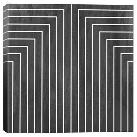 iCanvas Modern Art Mid Century Modern Geometric Pattern 90 Graphic Art on Canvas