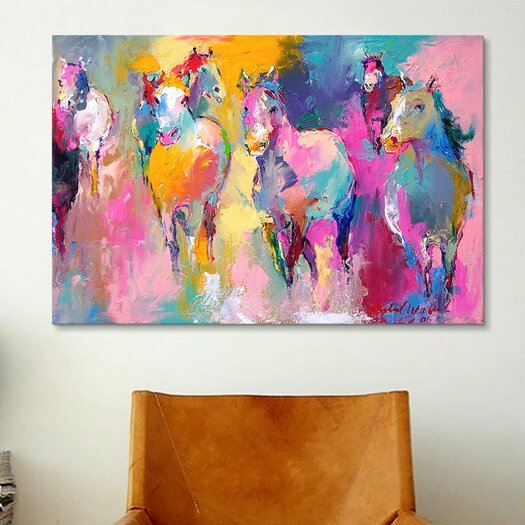 iCanvas 'Wild' by Richard Wallich Painting Print on Canvas