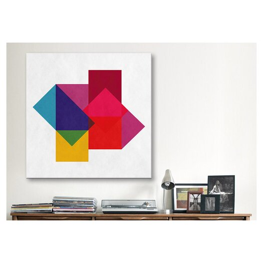 iCanvas Modern Art Study of Colors Graphic Art on Canvas