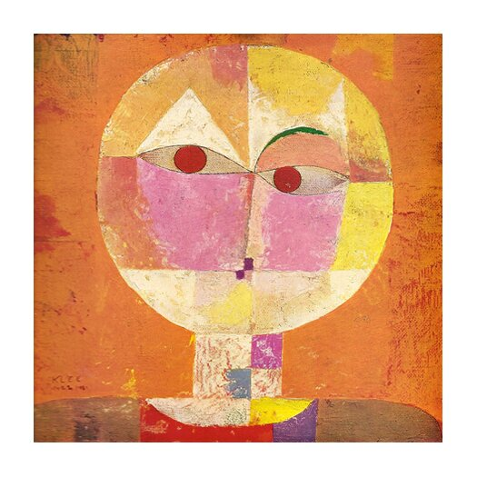 iCanvas 'Senecio' by Paul Klee Painting Print on Canvas