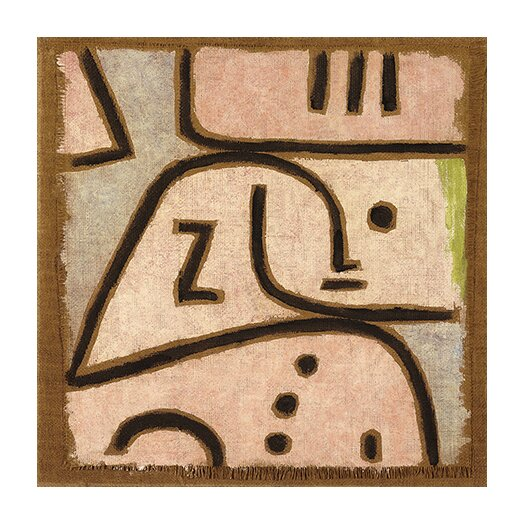 "iCanvas ""Wi (in Memoriam)"" Canvas Wall Art by Paul Klee"