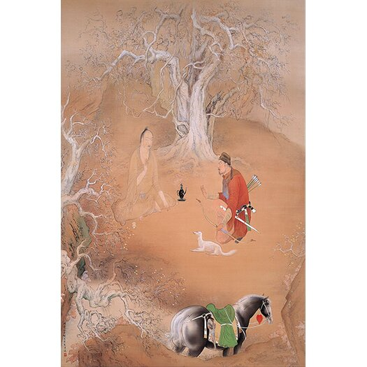 "iCanvas ""Spring Day"" Canvas Wall Art by Hashimoto Kansetsu"