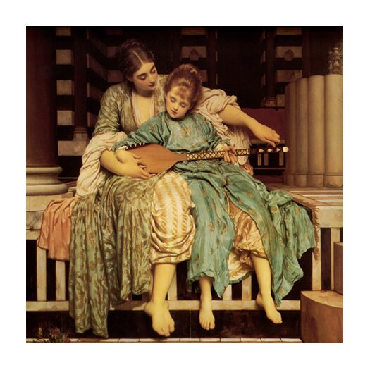"iCanvas ""The Music Lesson"" Canvas Wall Art by Frederick Leighton"