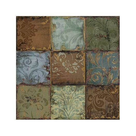 """iCanvas """"Tapestry Tiles"""" Canvas Wall Art by Daphne Brissonnet"""