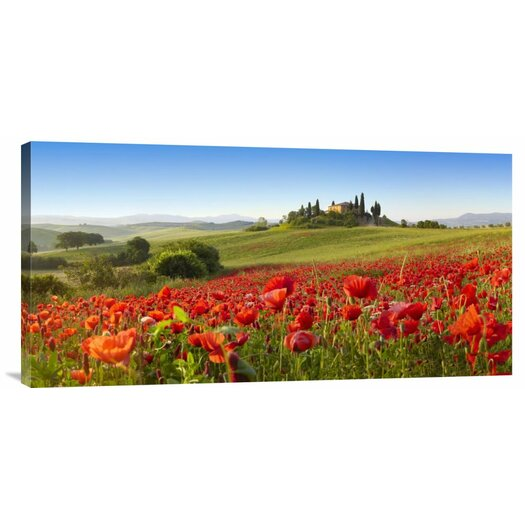 Bentley Global Arts 'Orcia Valley in Spring, Tuscany' by Fabio Muzzi Photographic Print on Canvas