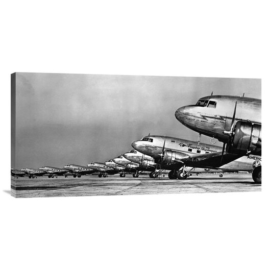 Bentley Global Arts 'Fleet of Passenger Transport Planes, 1936' Photographic Print on Canvas
