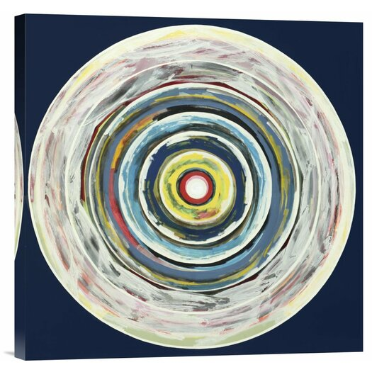 Bentley Global Arts Target I by Nino Mustica Painting Print on Canvas