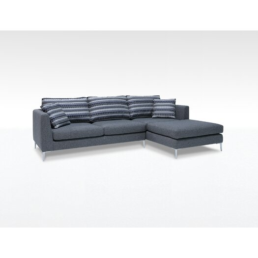 """Focus One Home James 72"""" Sectional"""
