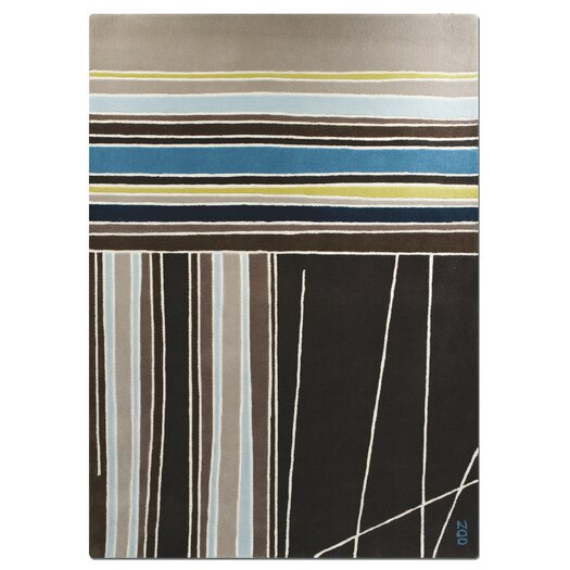 Focus One Home Meridian Striped Rug