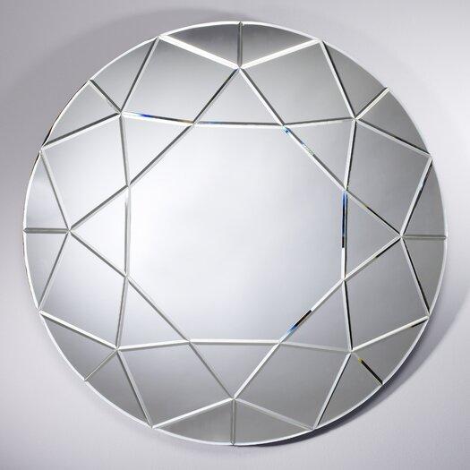 Deknudt Mirrors Homka Round Diamond Mirror