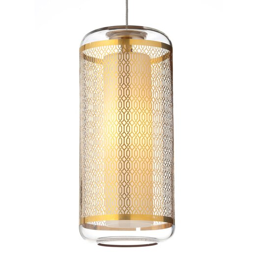 Tech Lighting Ecran 1 Light Kable Lite Mini Pendant
