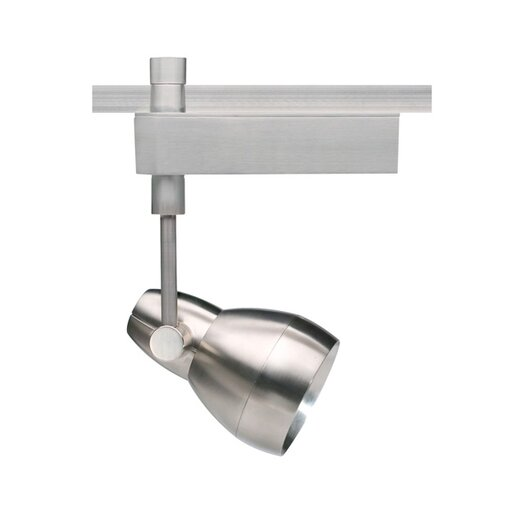 Tech Lighting Om Powerjack 1 Light Ceramic Metal Halide T4 20W Track Light Head with 60° Beam Spread