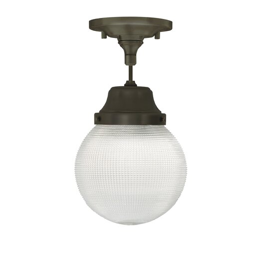 Tech Lighting Wrightwood Schoolhouse Pendant