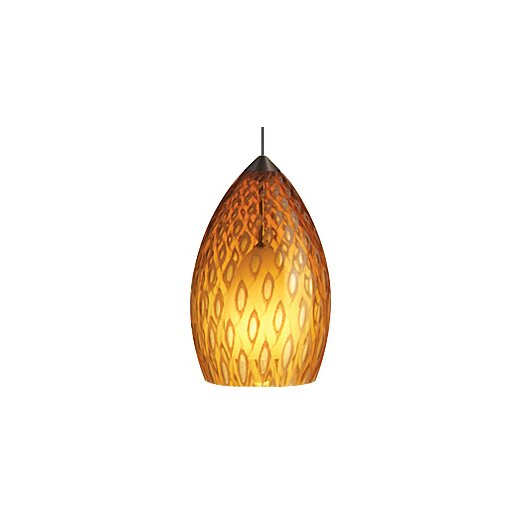 Tech Lighting Firebird 1 Light Two-Circuit Monorail Pendant