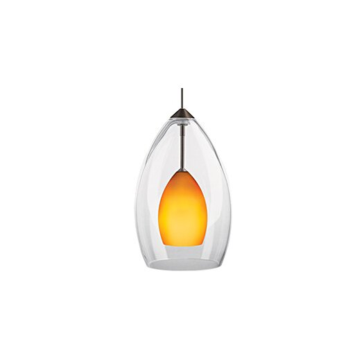 Tech Lighting Inner Fire 1 Light FreeJack Mono-point Pendant
