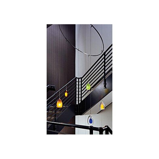 Tech Lighting Firefrost 1 Light Monorail Pendant
