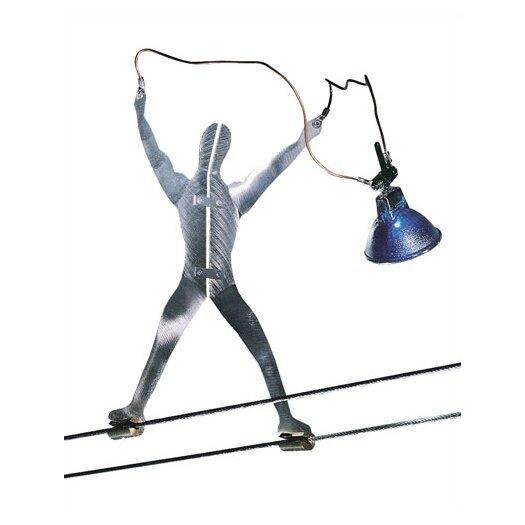 Tech Lighting Metal Man Functional Art Track Light