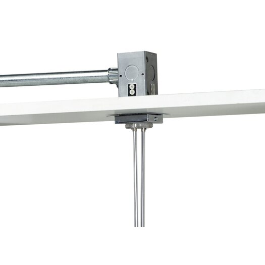 "Tech Lighting Kable Lite 2"" Square Single Feed Canopy"