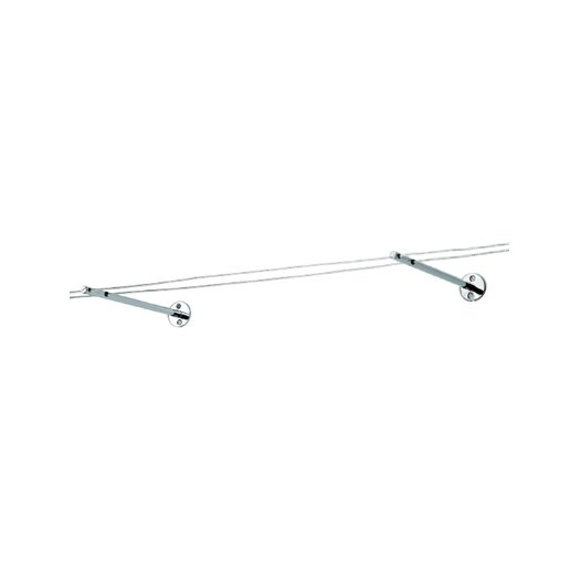 Tech Lighting Kable Lite Outside Rigger in Chrome and Satin Nickel