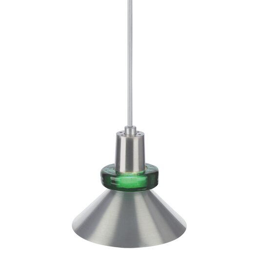 Tech Lighting 1 Light Hanging Wok Pendant