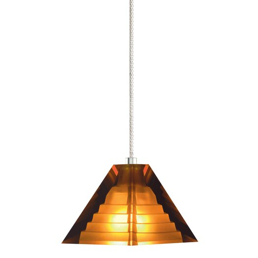 Tech Lighting 1 Light Pyramid Pendant