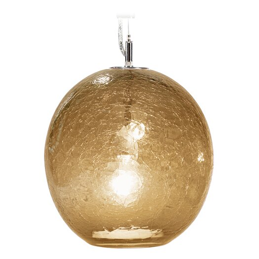 Tempo Luxury Home Collection Boa Solaris 1 Light Globe Pendant