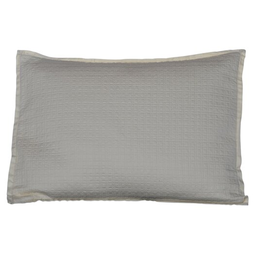 Vera Wang Etched Roses Applique Circles Decorative Pillow
