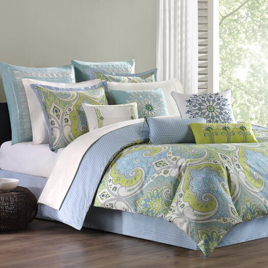 echo design Sardinia Cotton Oblong Pillow