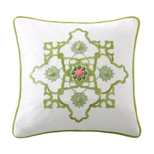 echo design Gramercy Paisley Cotton Square Pillow
