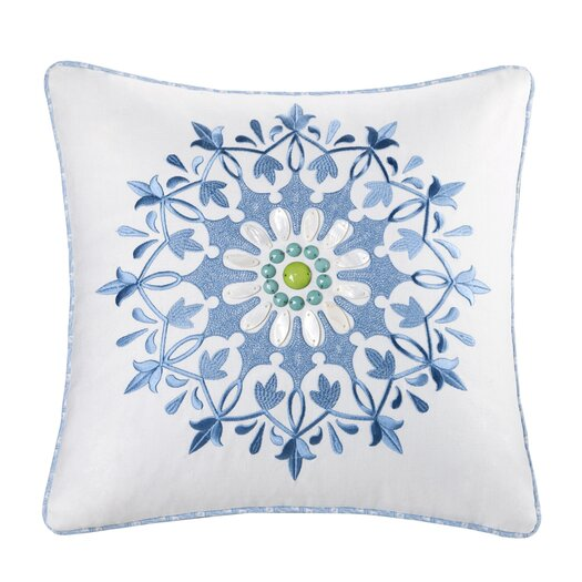 echo design Sardinia Cotton Throw Pillow
