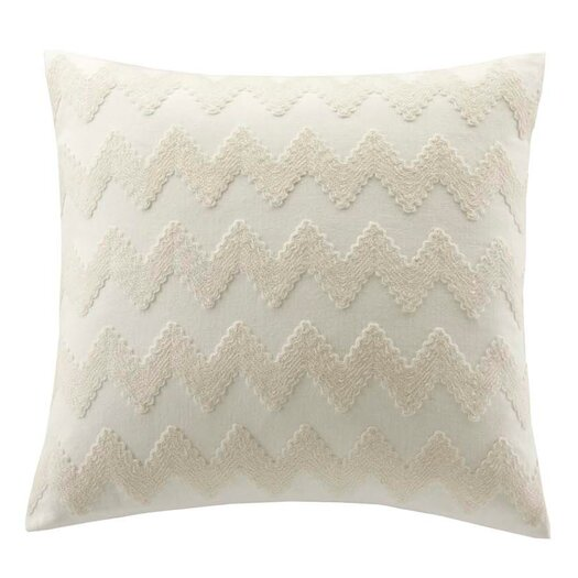 echo design Mykonos Cotton Linen Square Pillow