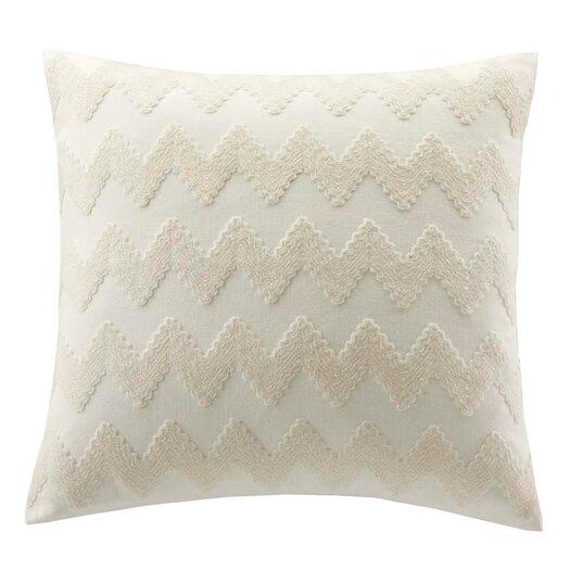 echo design Mykonos Cotton Linen Square Throw Pillow