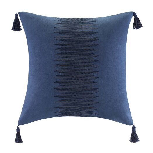 echo design African Sun Cotton Faux Linen Decorative Pillow