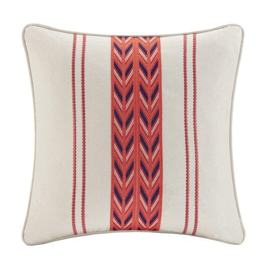 echo design Cozumel Cotton Faux Linen Decorative Pillow