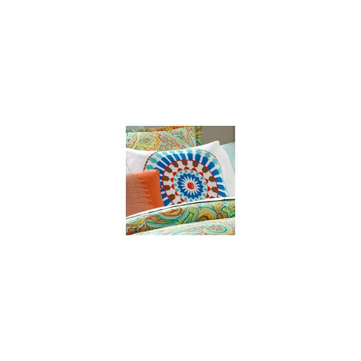 echo design Beacon's Paisley Cotton Faux Linen Pillow
